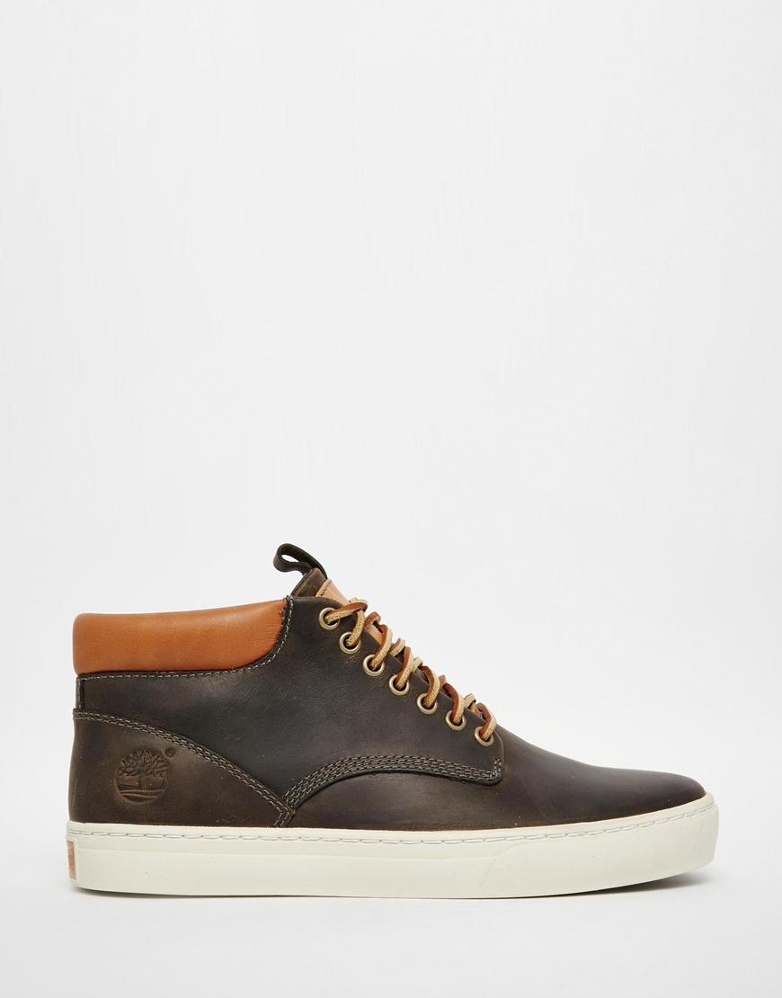 Timberland Adventure Cupsole Chukka Boots in Green for Men | Lyst
