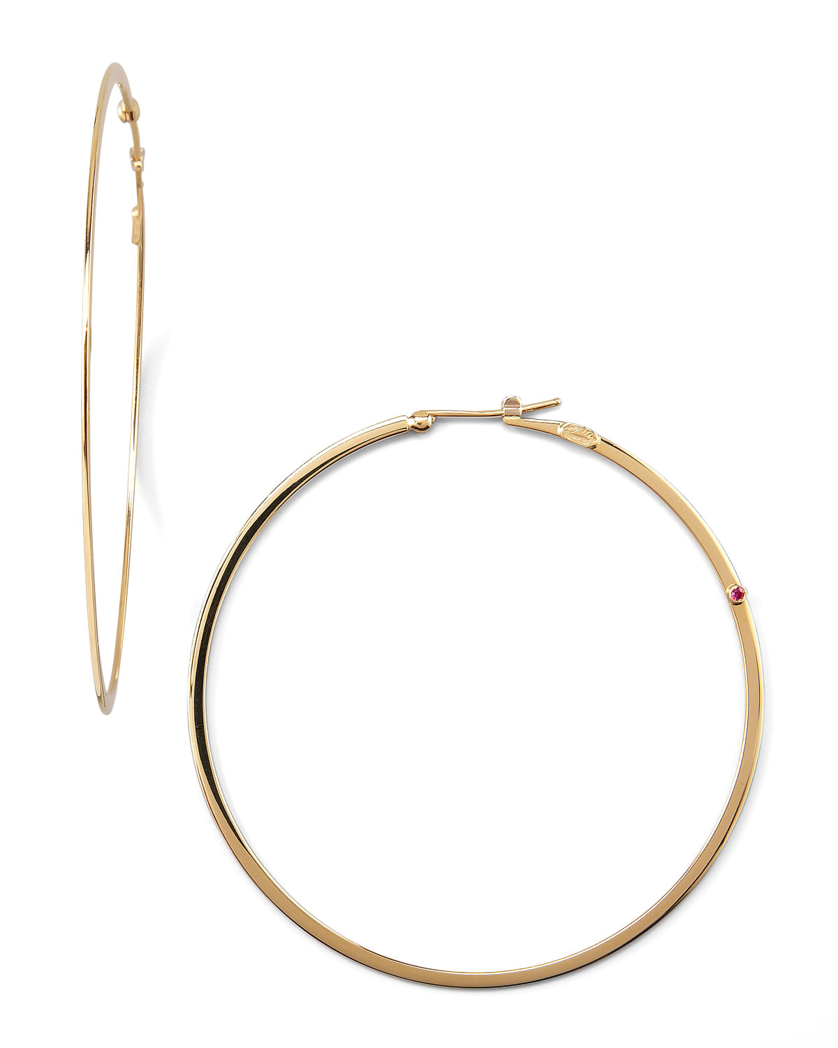 Gallery Previously Sold At Neiman Marcus Women S Gold Hoop Earrings