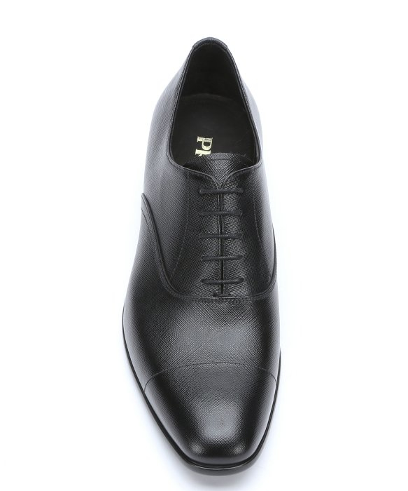 cheap price cheap order Prada Saffiano Leather Lace-Up O... official online official site cheap price footlocker cheap price N2Jzux3