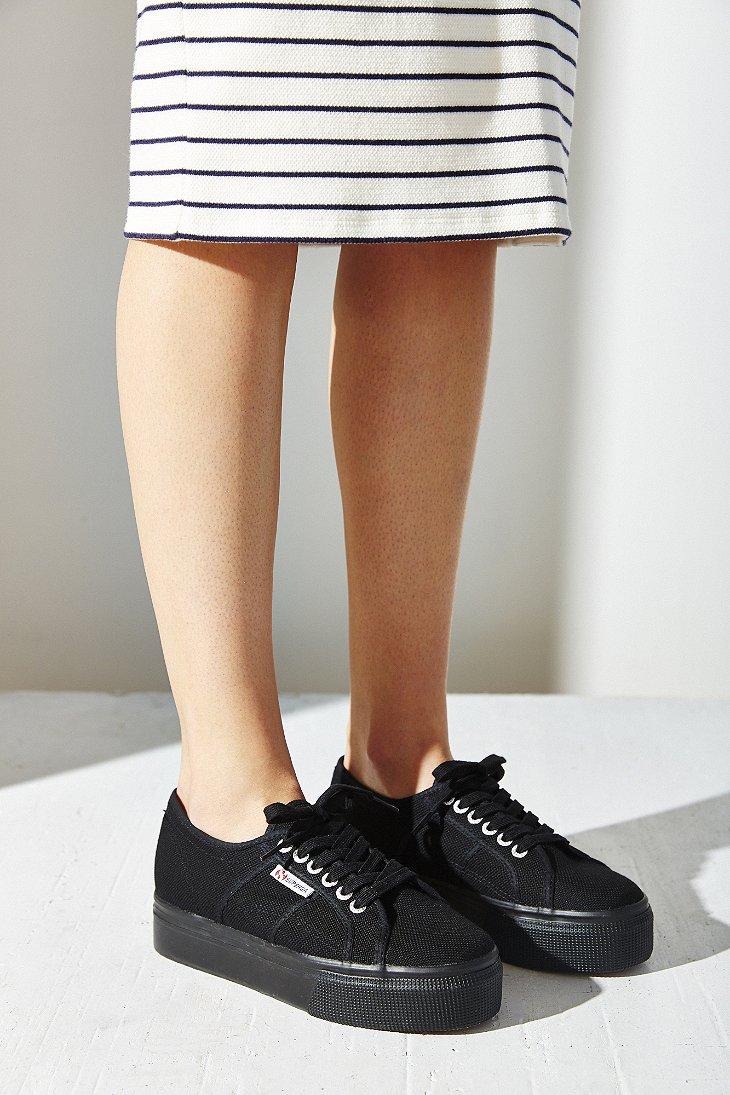 d58f42c9835 Lyst - Superga Up + Down Platform Sneaker in Black