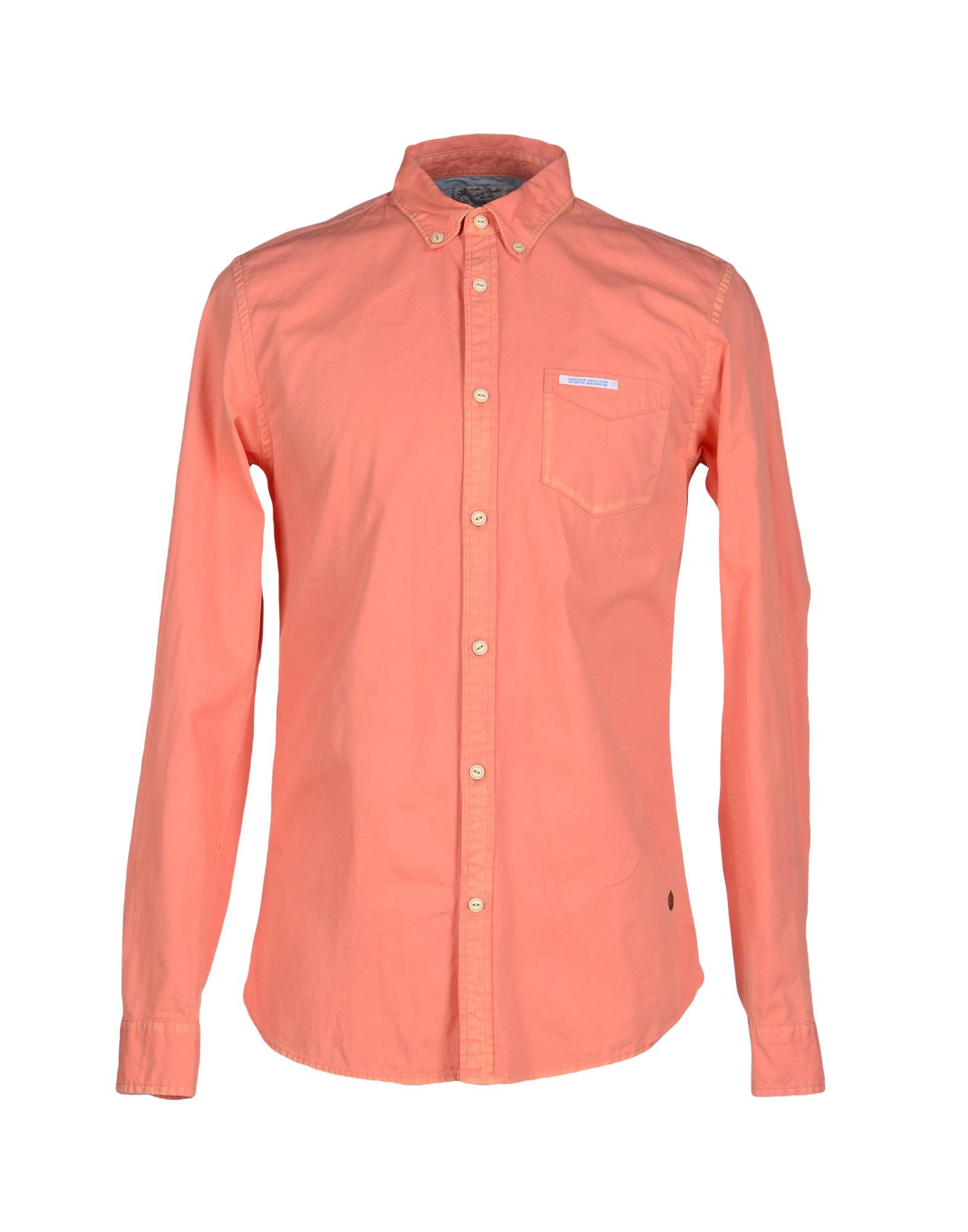 Scotch & soda Shirt in Pink for Men | Lyst