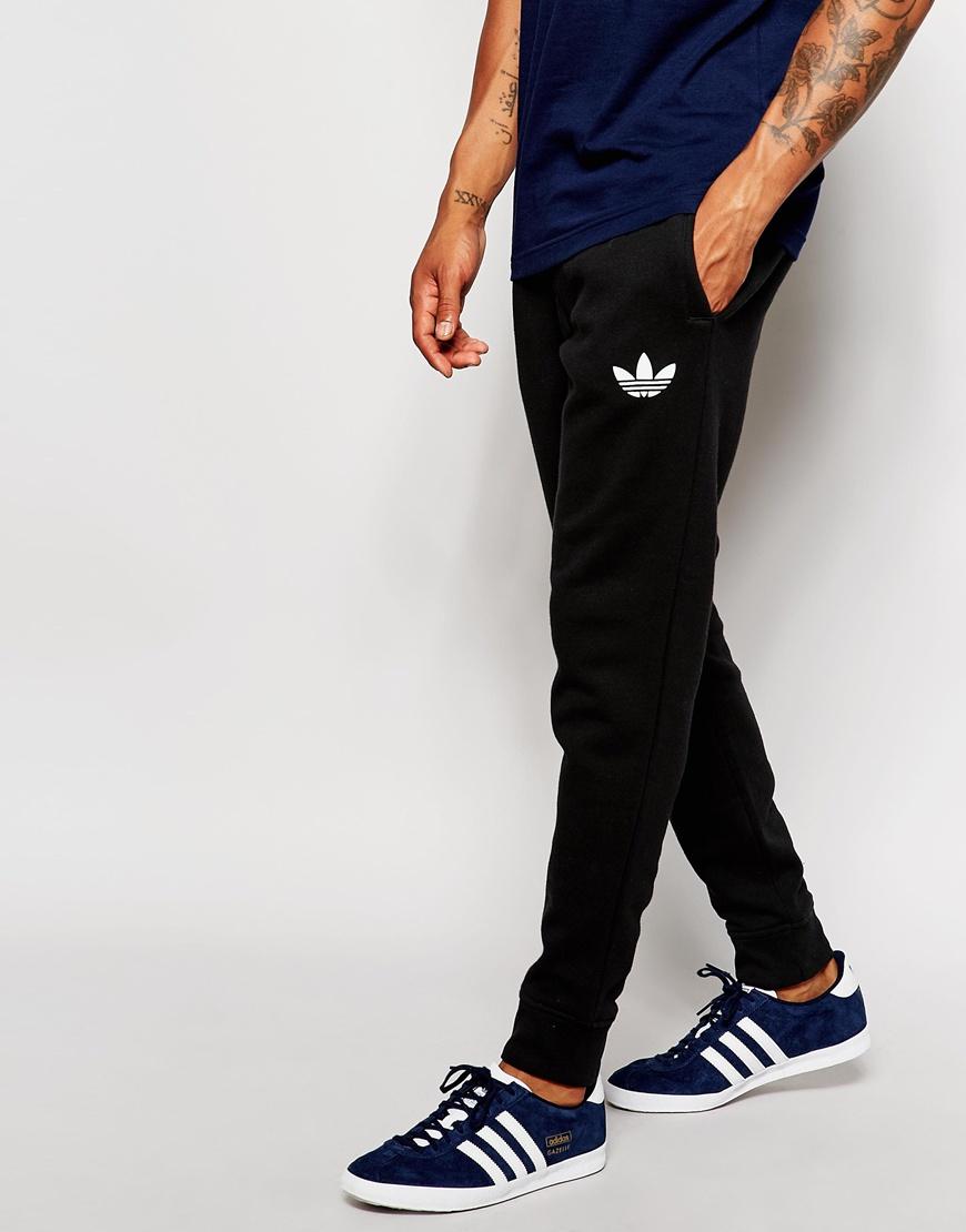 7cdcfcd6f adidas Originals Skinny Joggers Ab7512 in Black for Men - Lyst
