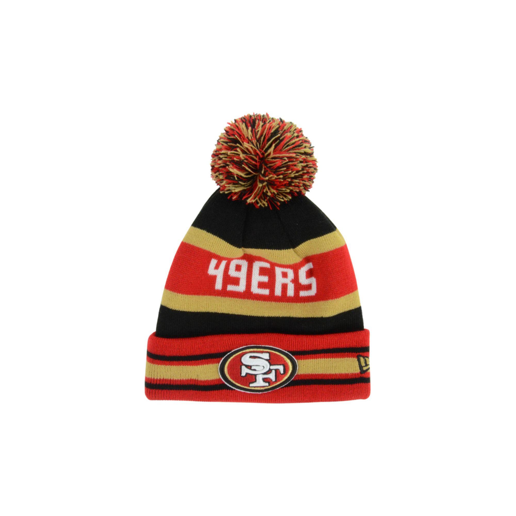 217e7b816d8 Lyst - KTZ San Francisco 49ers Jake Knit Hat in Red for Men