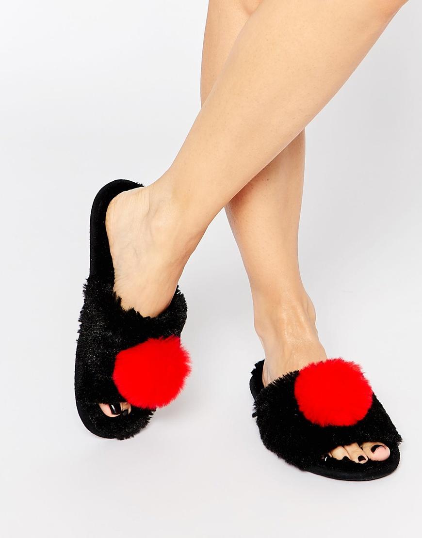 Gallery. Women's Pom Pom Shoes