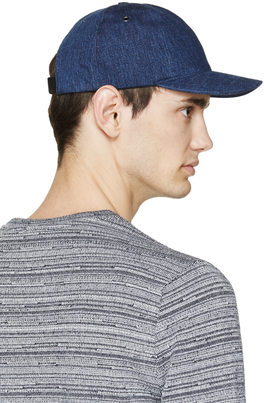 Lyst - A.P.C. Blue Denim Classic Cap in Blue for Men d2018befc0a