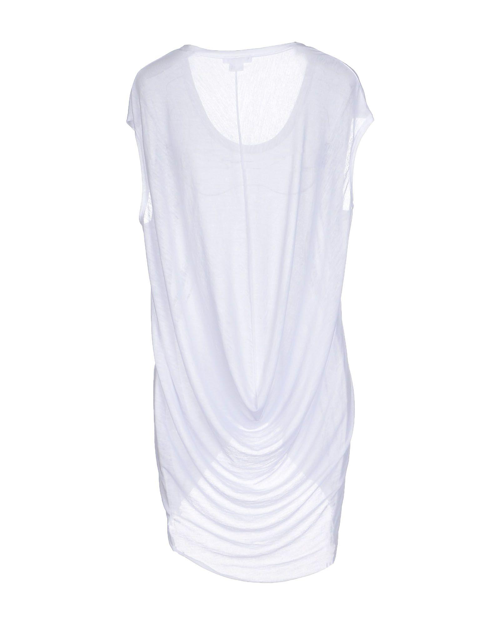 Lyst helmut lang t shirt in white for Helmut lang t shirt