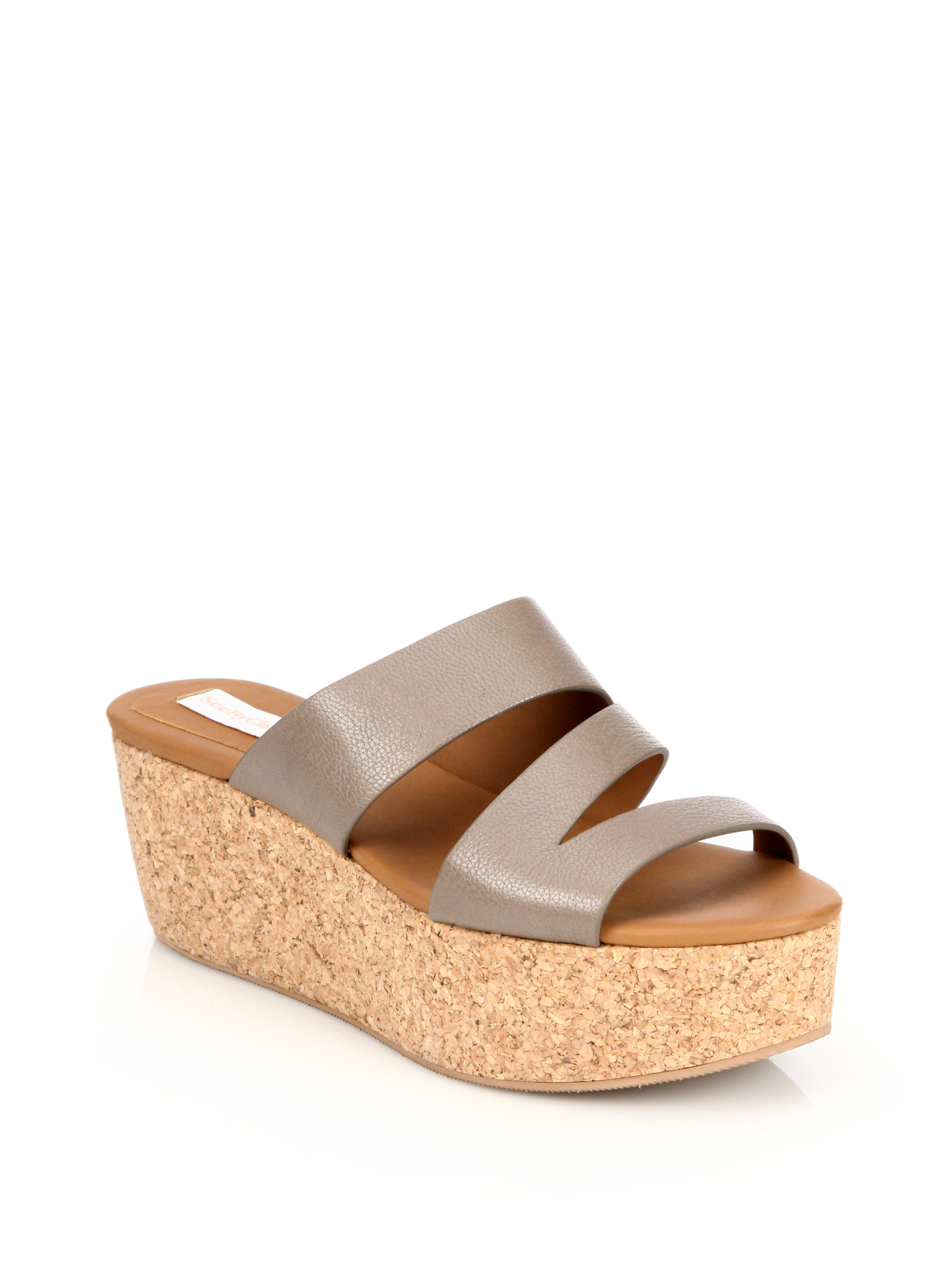 sale real See by Chloé Leather Platform Wedges free shipping 2014 unisex cheap affordable buy cheap sale explore cheap price MhEngTq