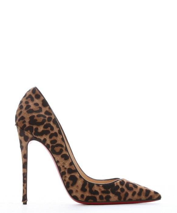 chris louboutin shoes - Christian louboutin So Kate Pony Hair Pumps in Animal (brown) | Lyst