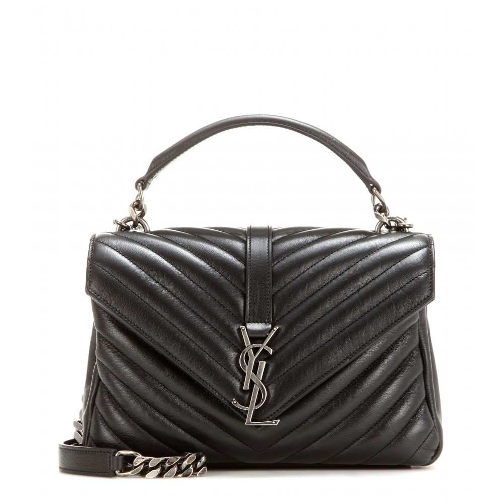 e00ff67a80 Lyst - Saint Laurent Classic Monogram Quilted Leather .