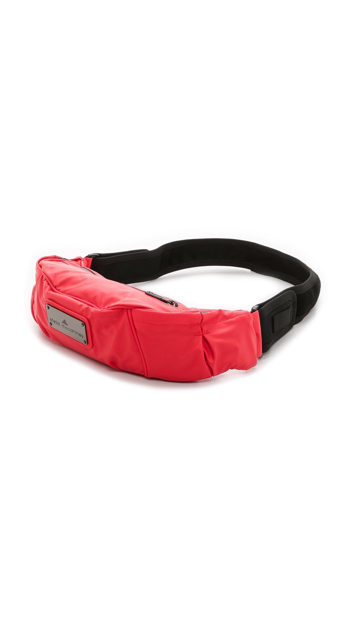 Lyst - adidas By Stella McCartney Running Cycling Bum Bag - Scarlet ... a2f3e19e17206