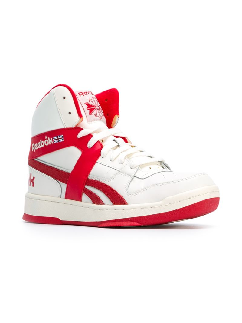 c20e89223ef Lyst - Reebok  bb 5600  Hi-top Sneakers in Red for Men