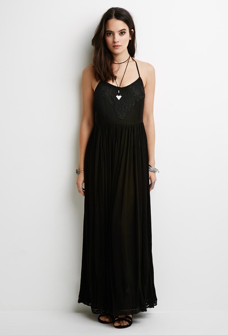 Maxi dress gauze