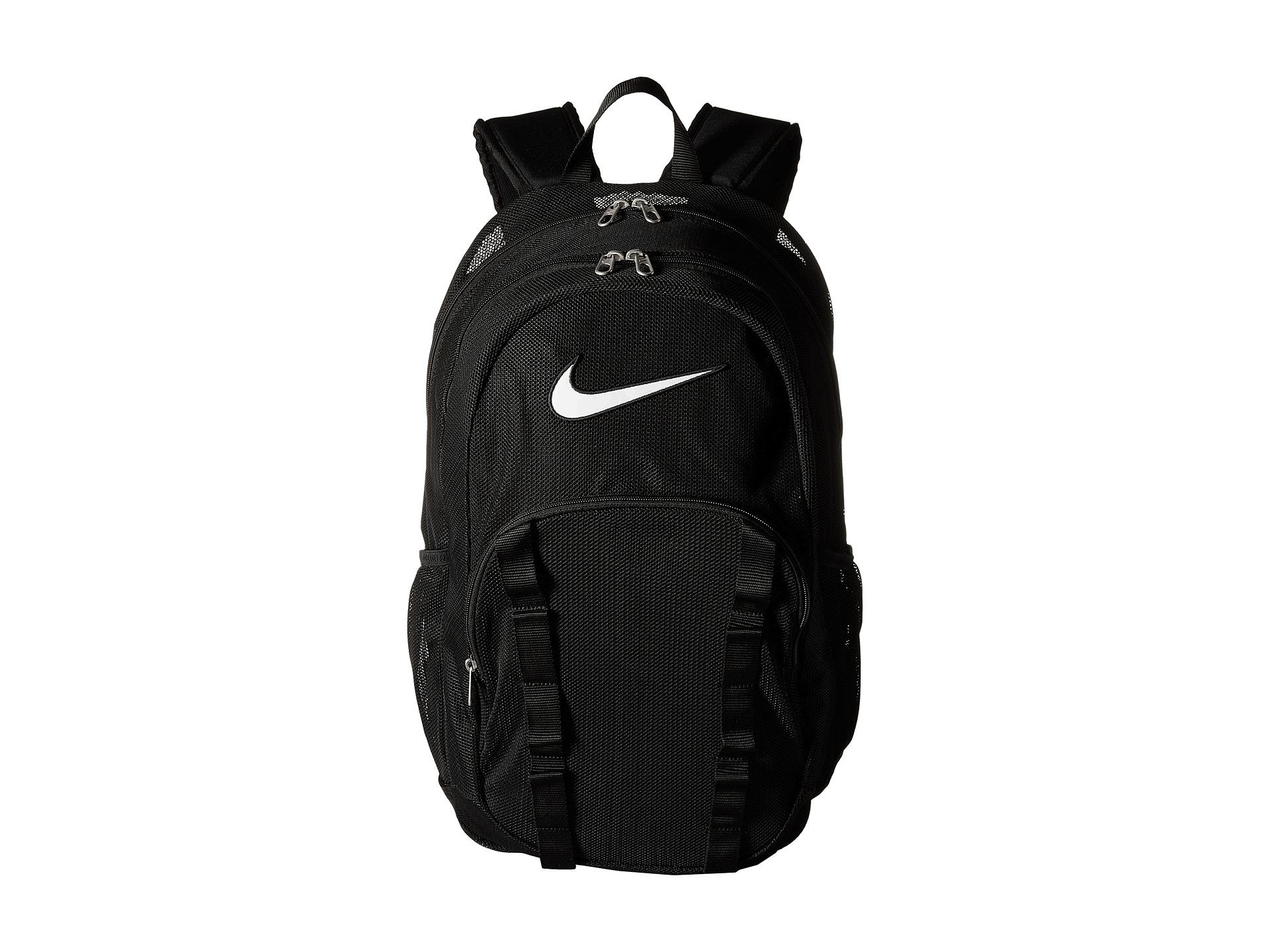 Lyst - Nike Brasilia 7 Backpack Mesh Xl in Black 19c45ee19