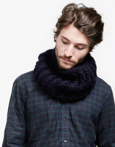 Wool and the gang nelson collar in blue lyst - Gang and the wool ...