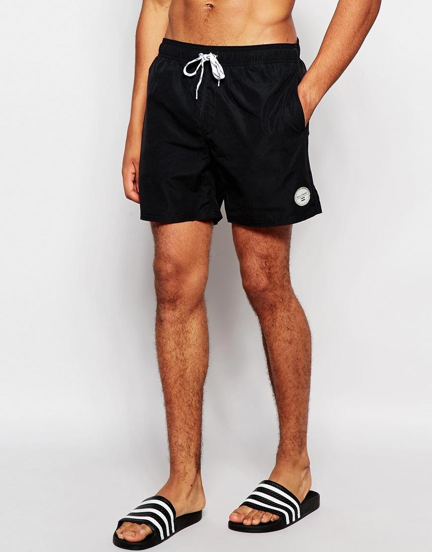 32a163e105 Billabong All Day Elastic 16 Inch Swim Shorts in Black for Men - Lyst