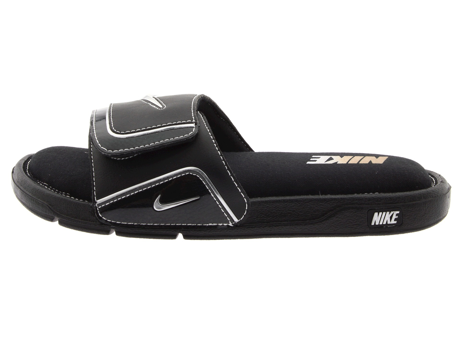 Nike Comfort Slide 2 In Black For Men Blackmetallic -6776