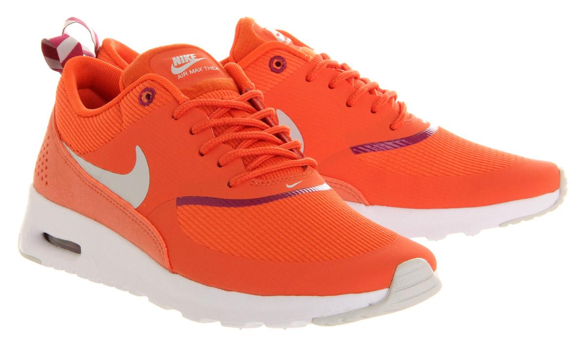 aef09afc11 Lyst - Nike Air Max Thea in Orange