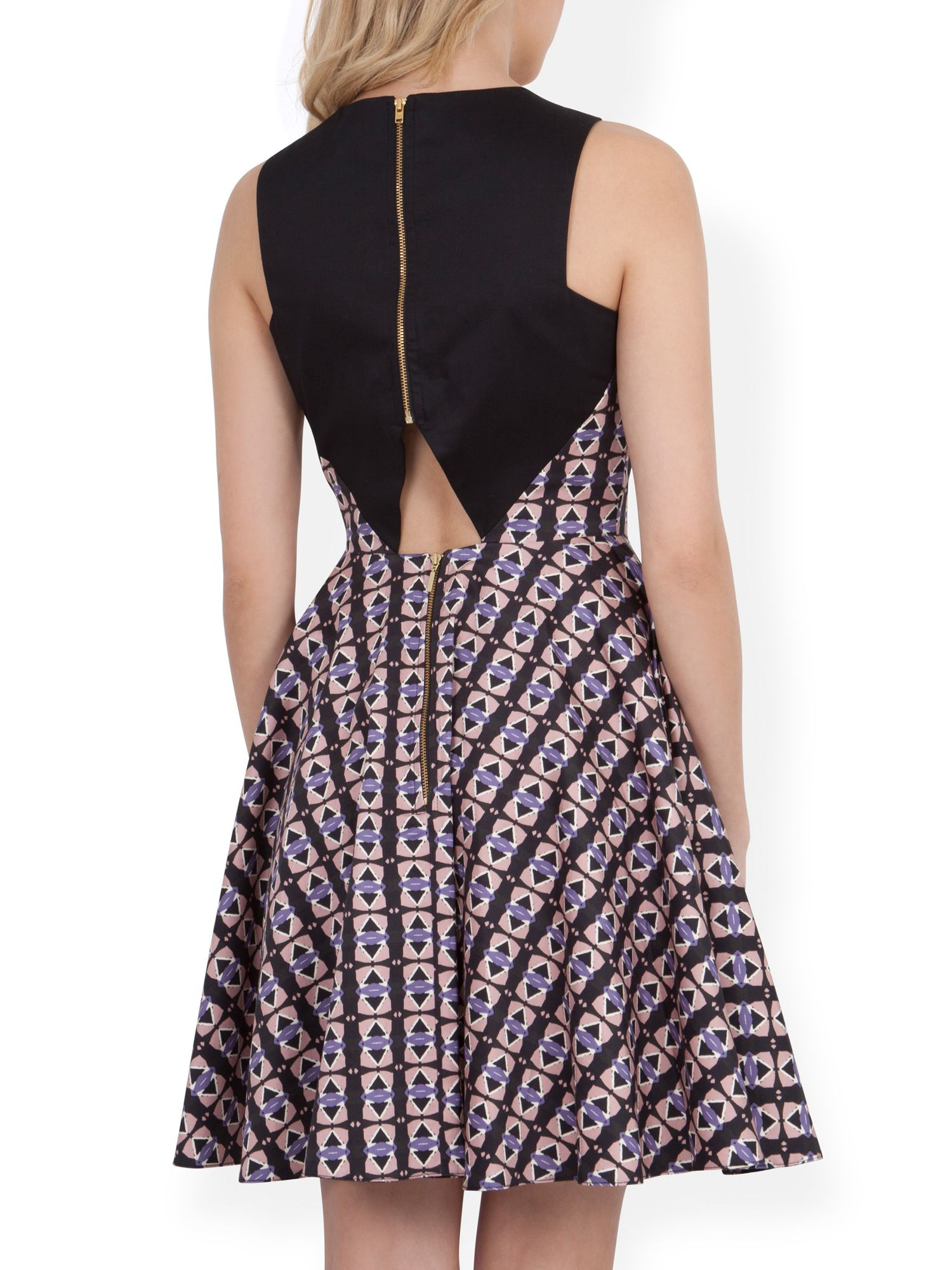Closet triangle cut out back dress - Gallery