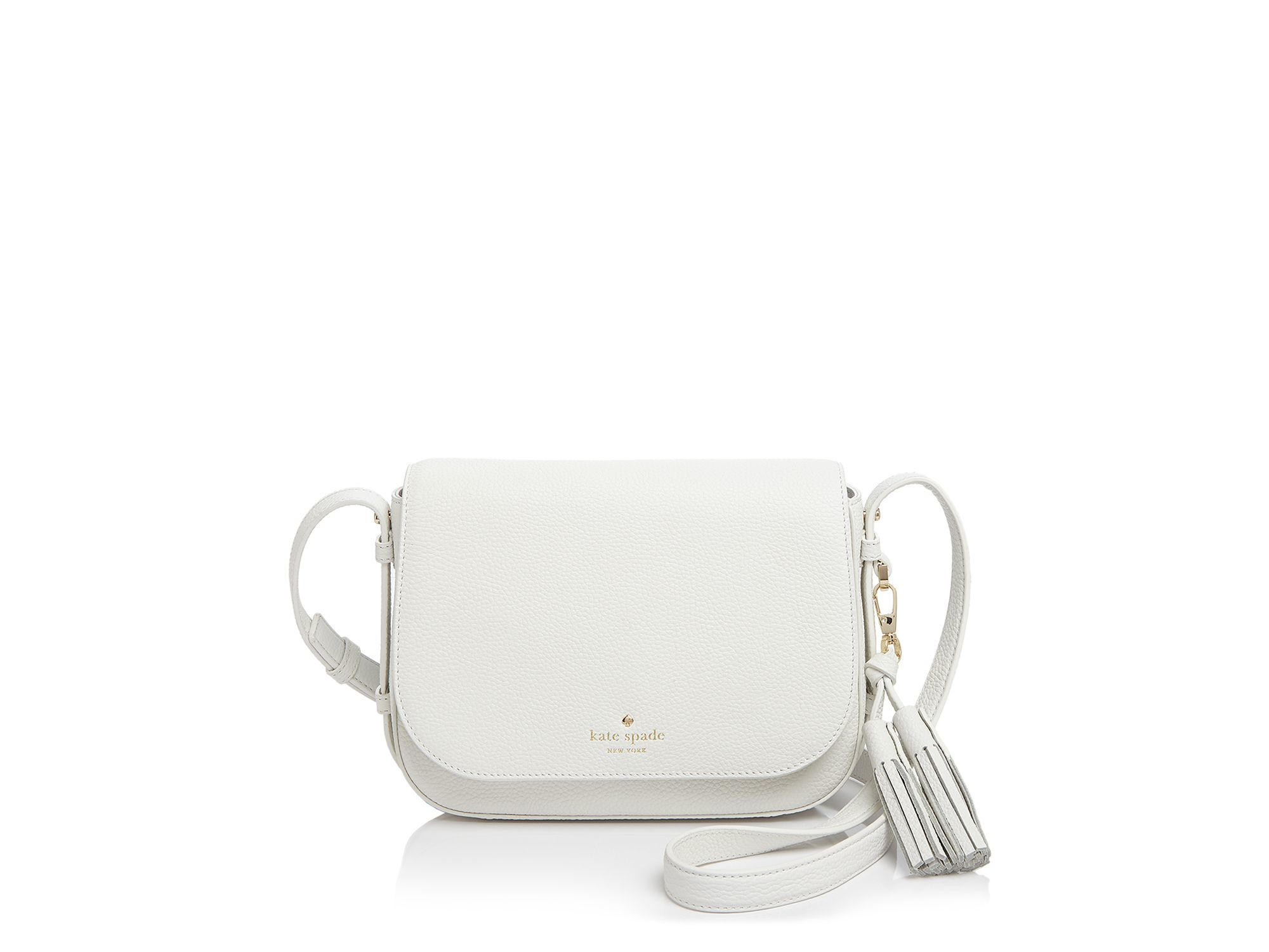 7e40a66ce Kate Spade Orchard Street Penelope Crossbody in White - Lyst