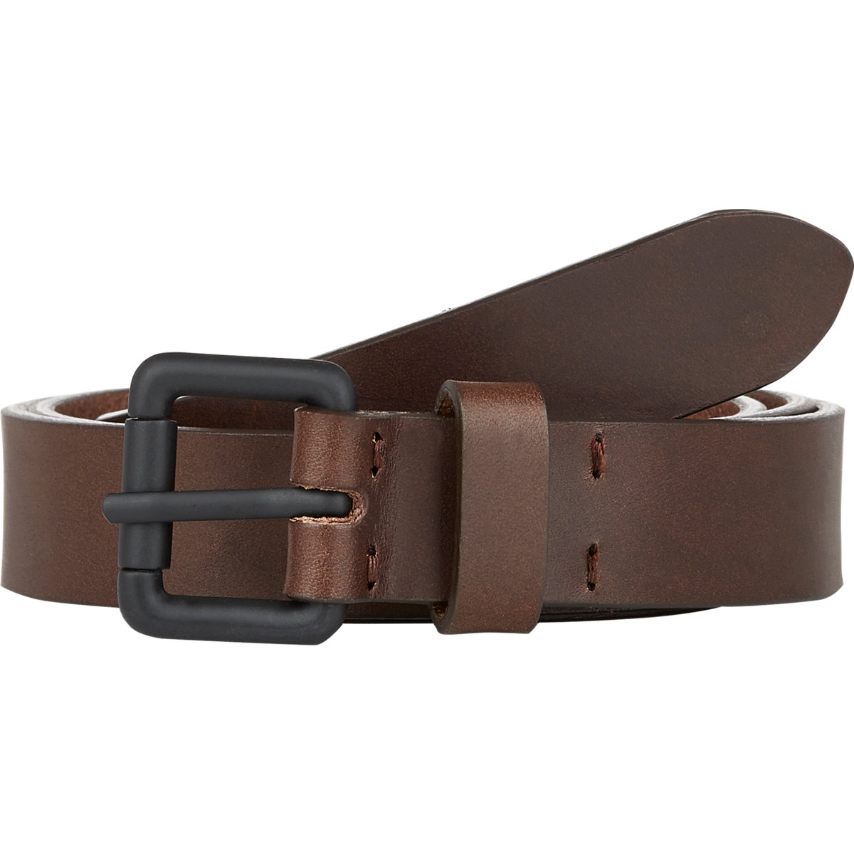 barneys new york leather belt in brown for lyst