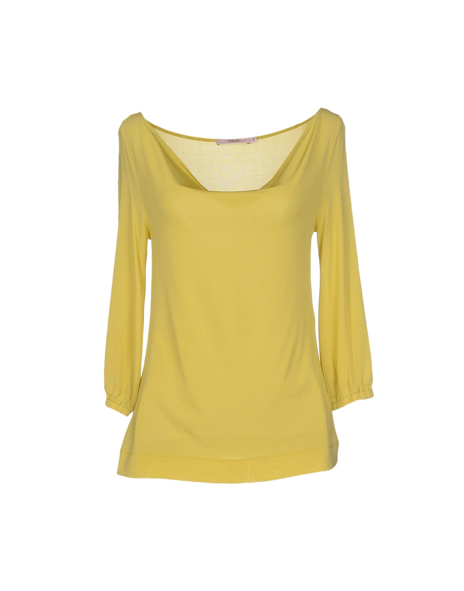 Lyst red valentino t shirt in yellow for Red valentino t shirt