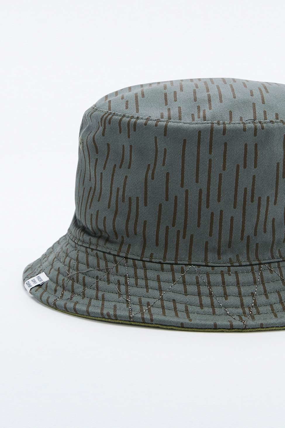 538fab5012c Herschel Supply Co. Lake Reversible Rain   Camo Bucket Hat in Green ...