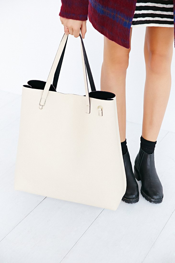 Gold dress urban outfitters tote