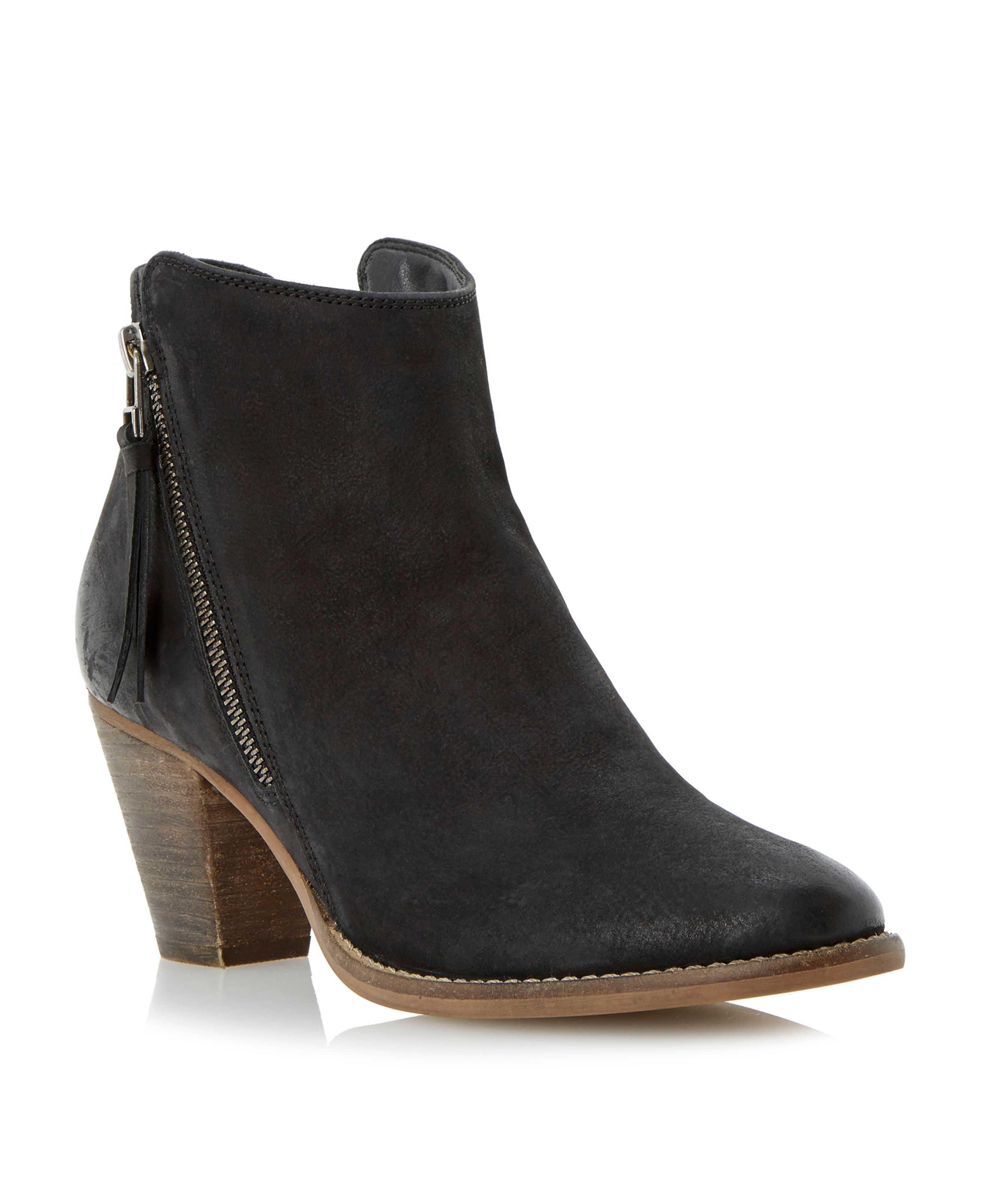 dune pollie ankle boot in black save 17 lyst