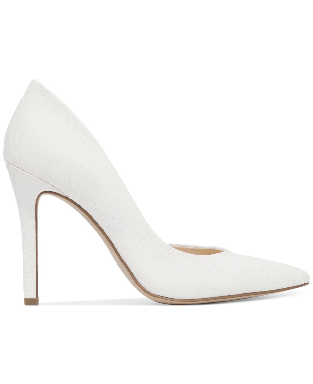 Lyst Jessica Simpson Claudette D Orsay Pumps In White
