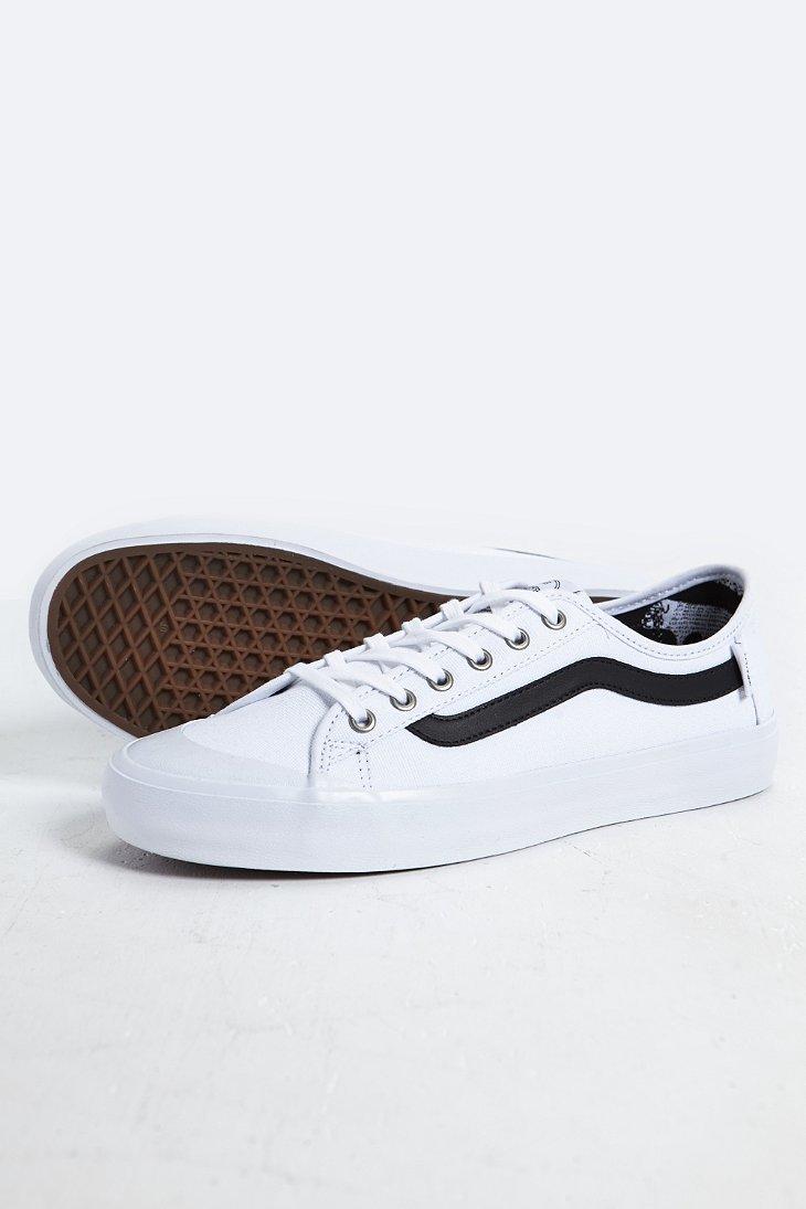 Lyst Vans Black Ball Sf Sneaker In White For Men