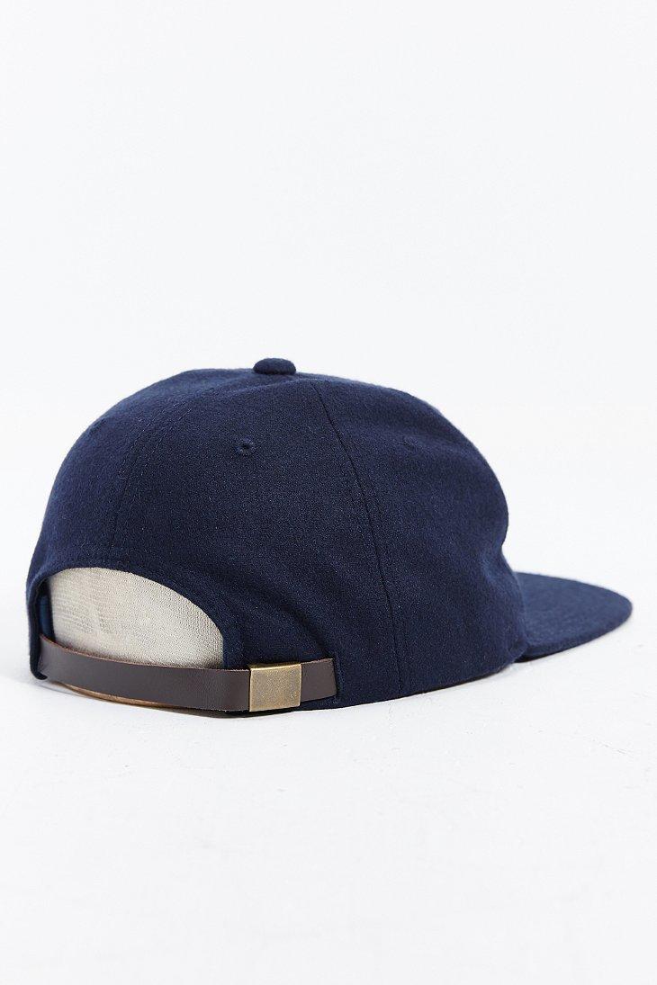 a6f91f4f43f42 Obey Walter Baseball Strapback Hat in Blue for Men - Lyst