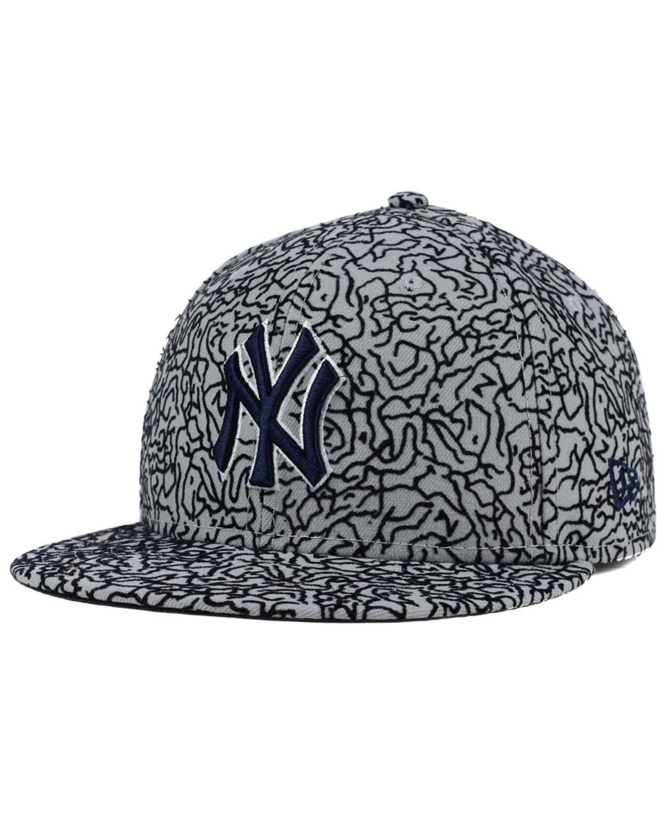 ... best price designer fashion fc265 66c67 lyst ktz new york yankees all  cement 59fifty cap 93b2a ... f57c871f0d3