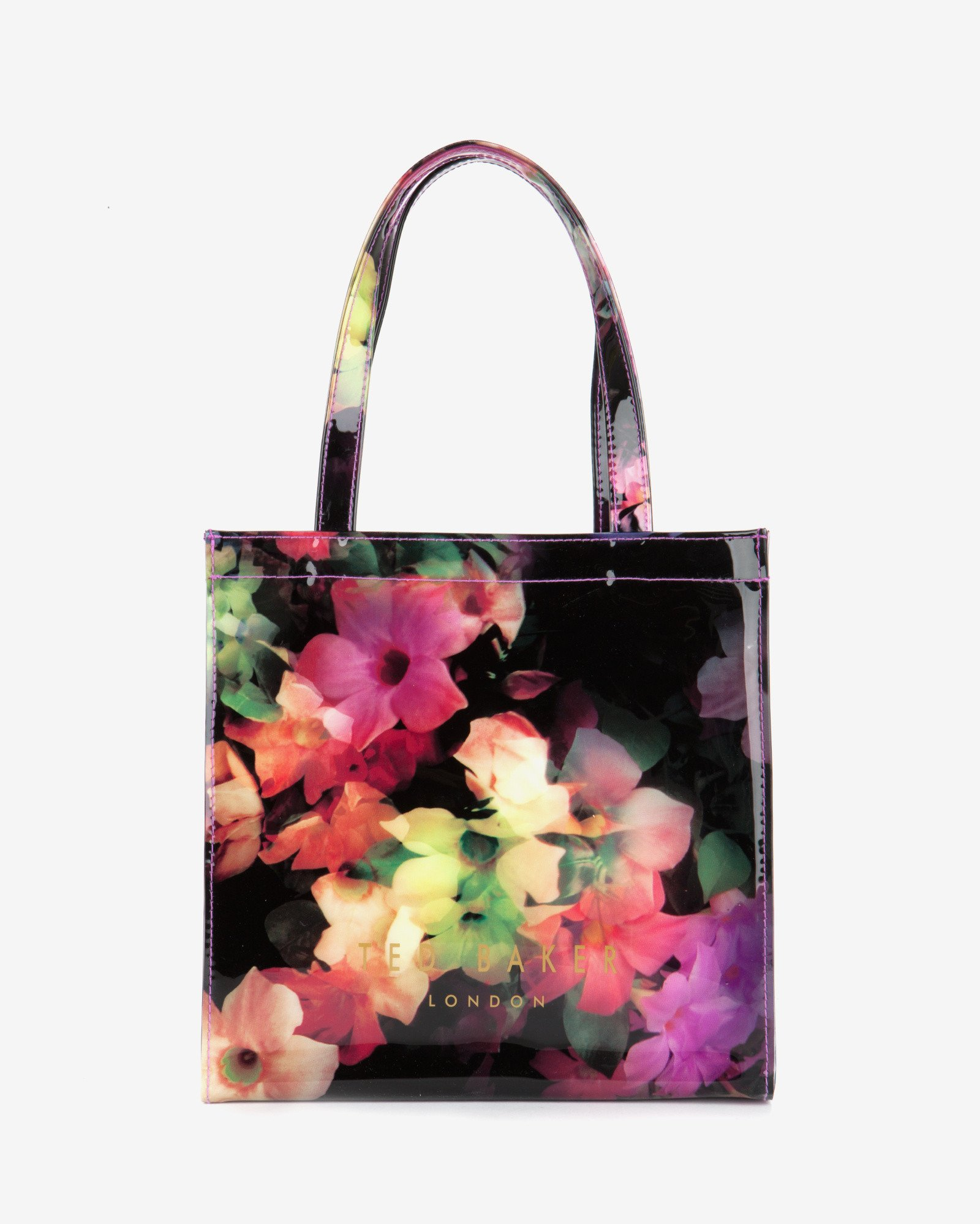 Ted Baker Small Floral Icon Bag Black on A Juicy Collection Of Blooms Digital