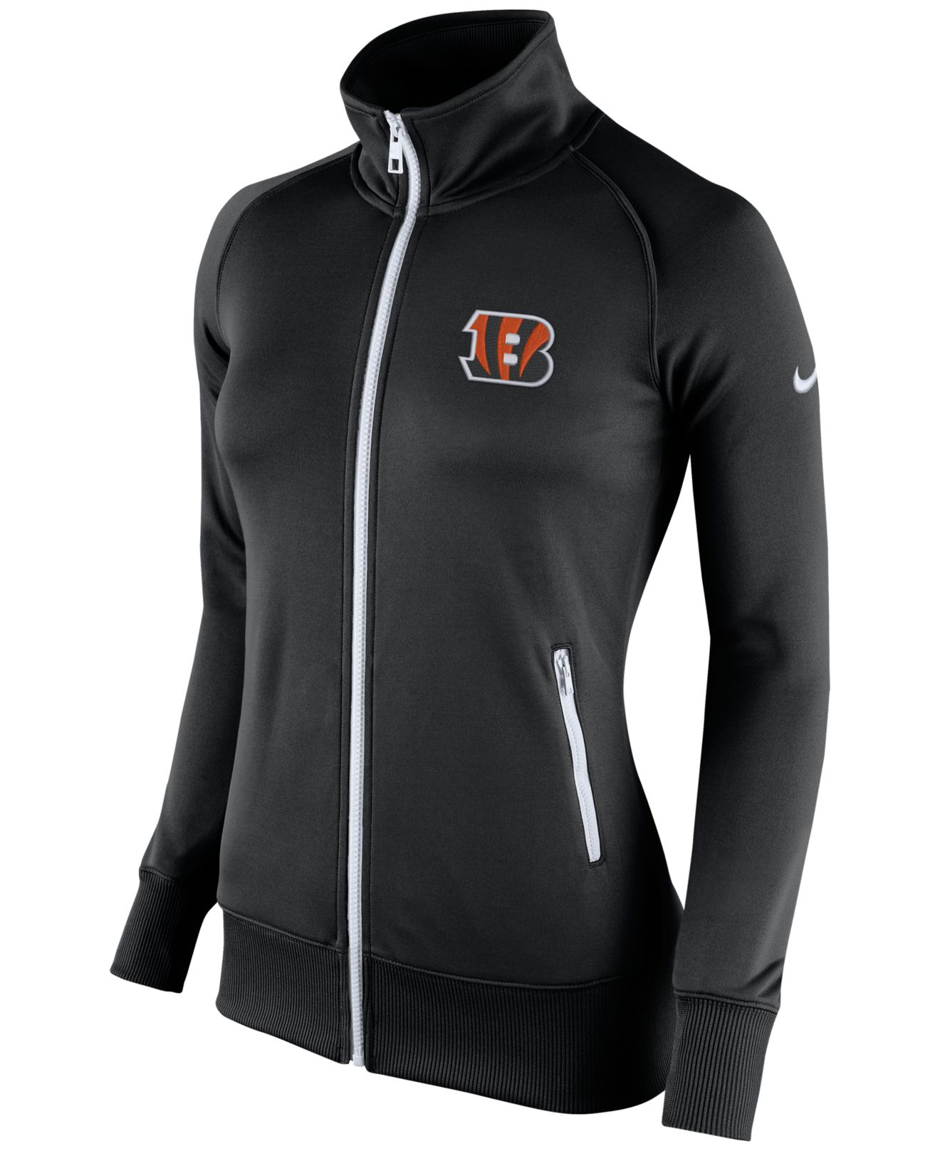 Lyst - Nike Women s Cincinnati Bengals Stadium Track Jacket in Black d4e35a592d
