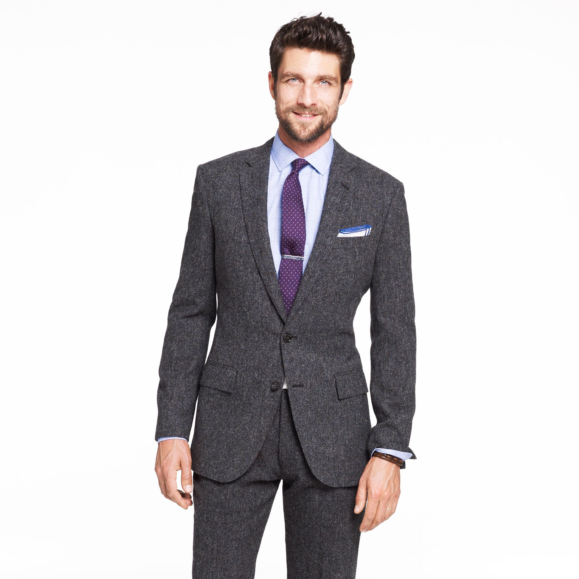 Lyst J Crew Ludlow Two Button Suit Jacket With Double