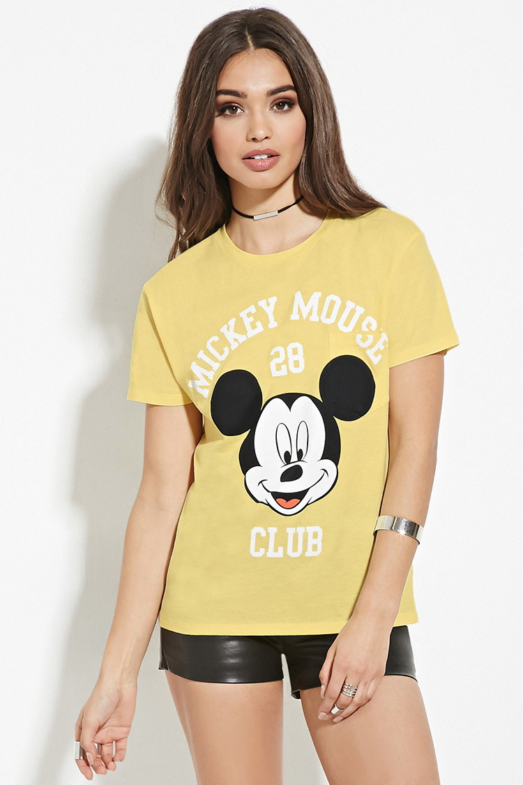 b039a6a1be5 Mickey Mouse Shirts Forever 21