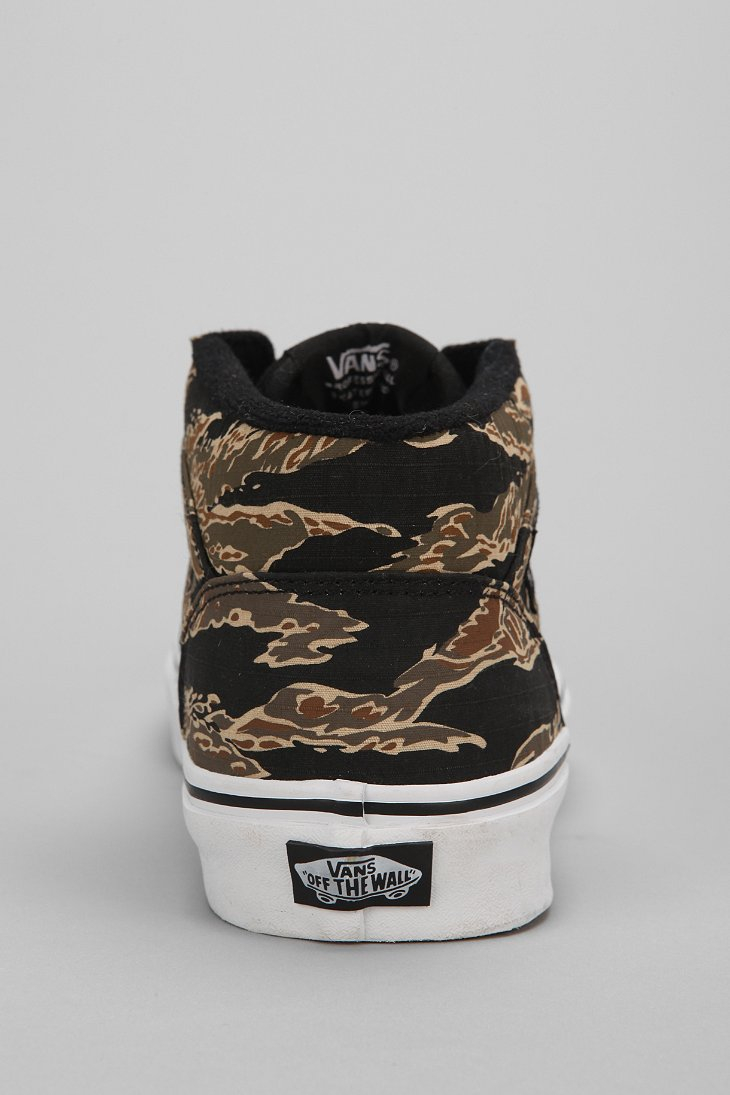 a690046d8f Lyst - Vans Half Cab Tiger Camo Mens Sneaker in Black for Men