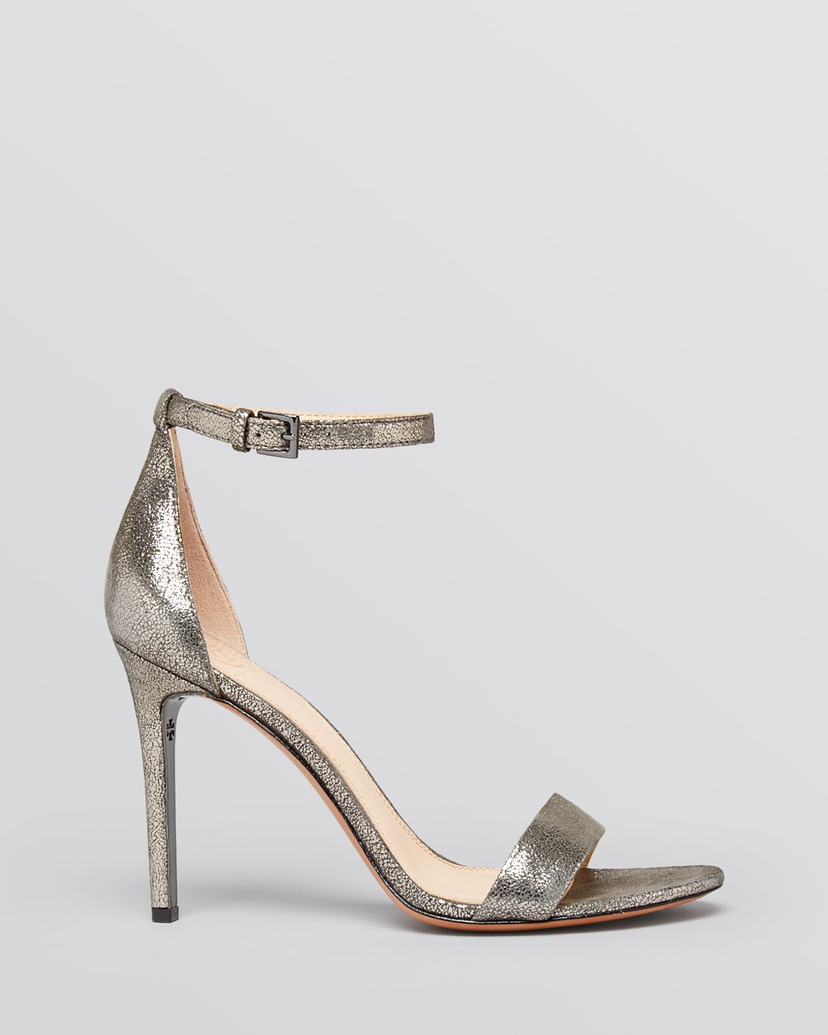 8286228ebe338 Lyst - Tory Burch Open Toe Ankle Strap Evening Sandals - Keri High ...