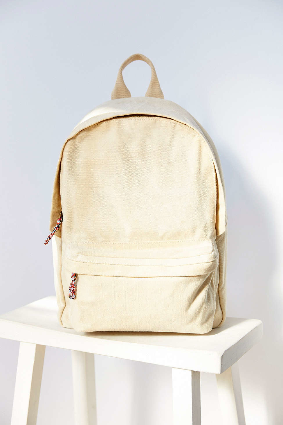 ad0735b048ac Lyst - BDG Canvas Backpack in Natural