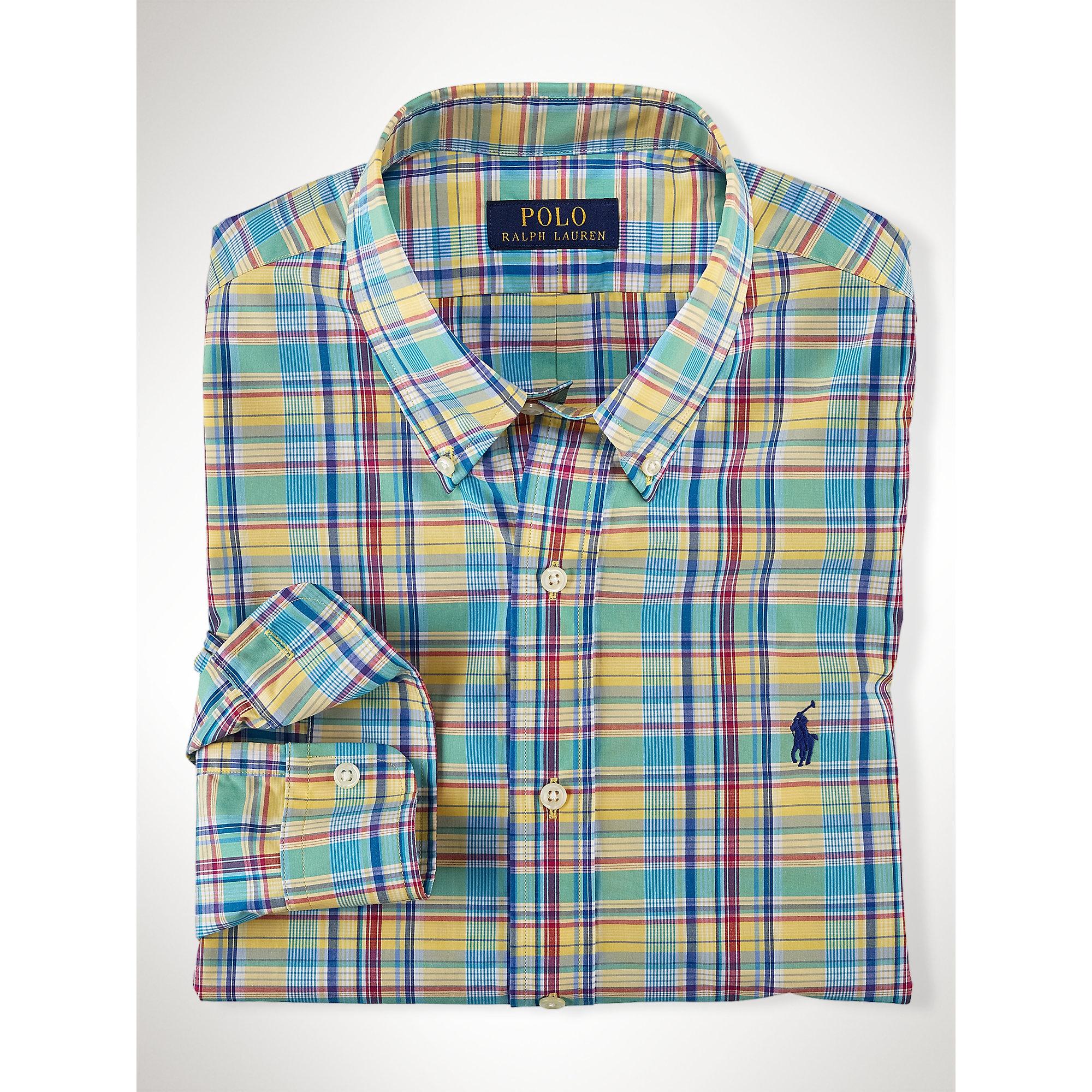 3f420360ae40a uk lyst polo ralph lauren plaid poplin shirt in blue for men 05051 10e35   wholesale gallery. mens bowling shirts mens filson jac mens ralph lauren  49712 ...