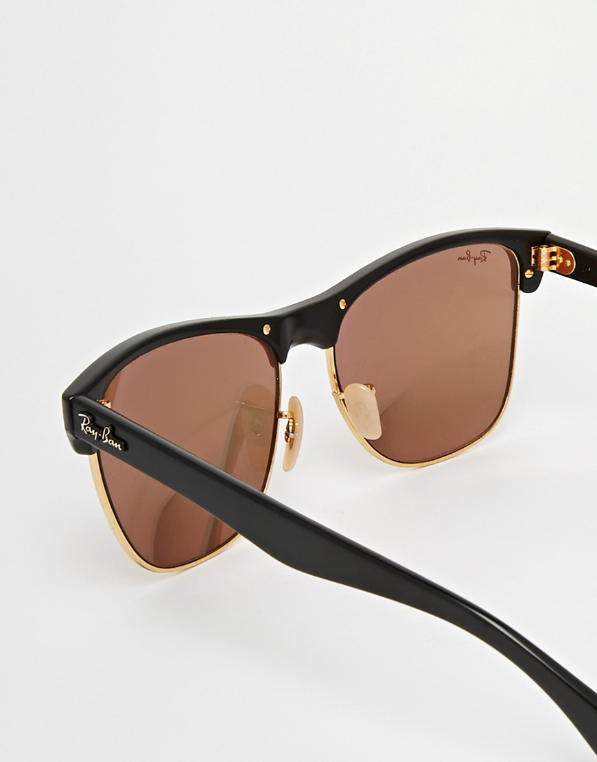 ray ban clubmaster lenses 890g  ray ban clubmaster beige