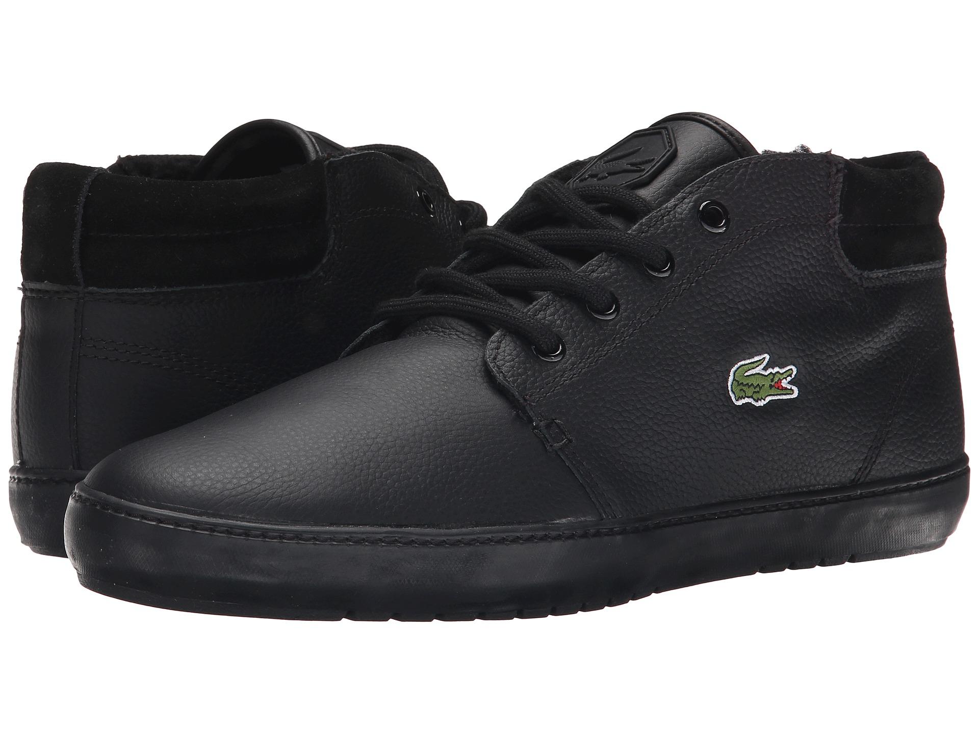 6ed6babbb Lyst - Lacoste Ampthill Terra Put in Black for Men