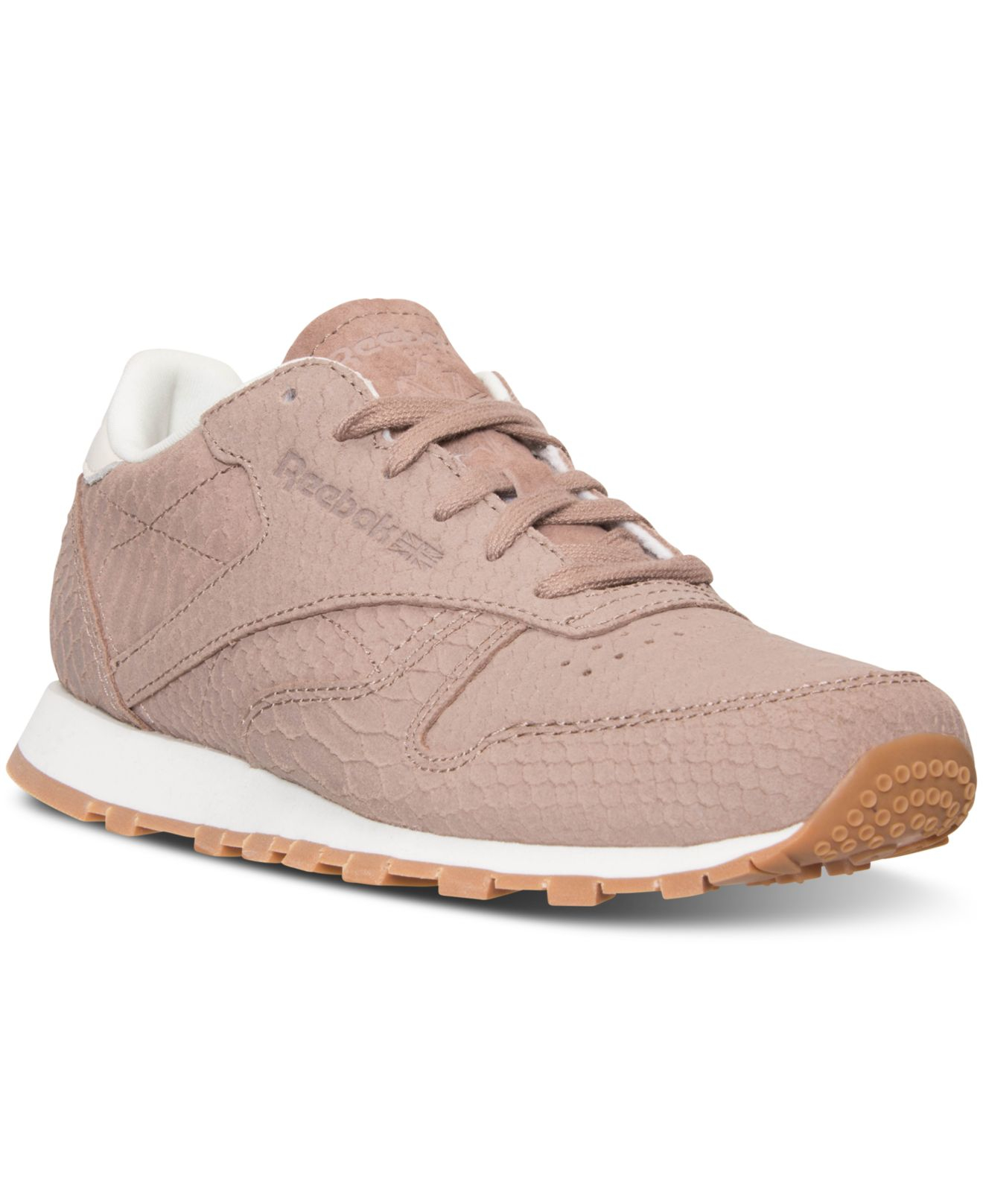 8fd11a8783e Gallery. Previously sold at  Macy s · Women s Reebok Classic Leather Women s  Velvet Sneakers ...