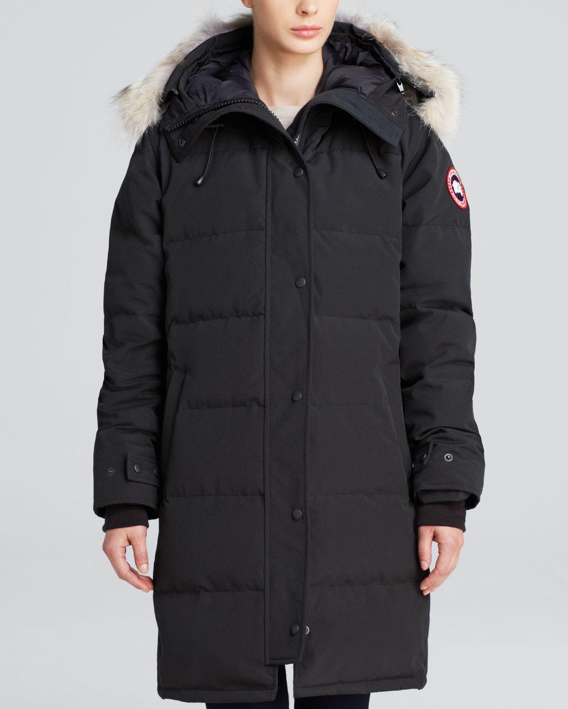 Canada Goose chilliwack parka sale discounts - Canada goose Down Coat - Shelburne Parka in Black   Lyst