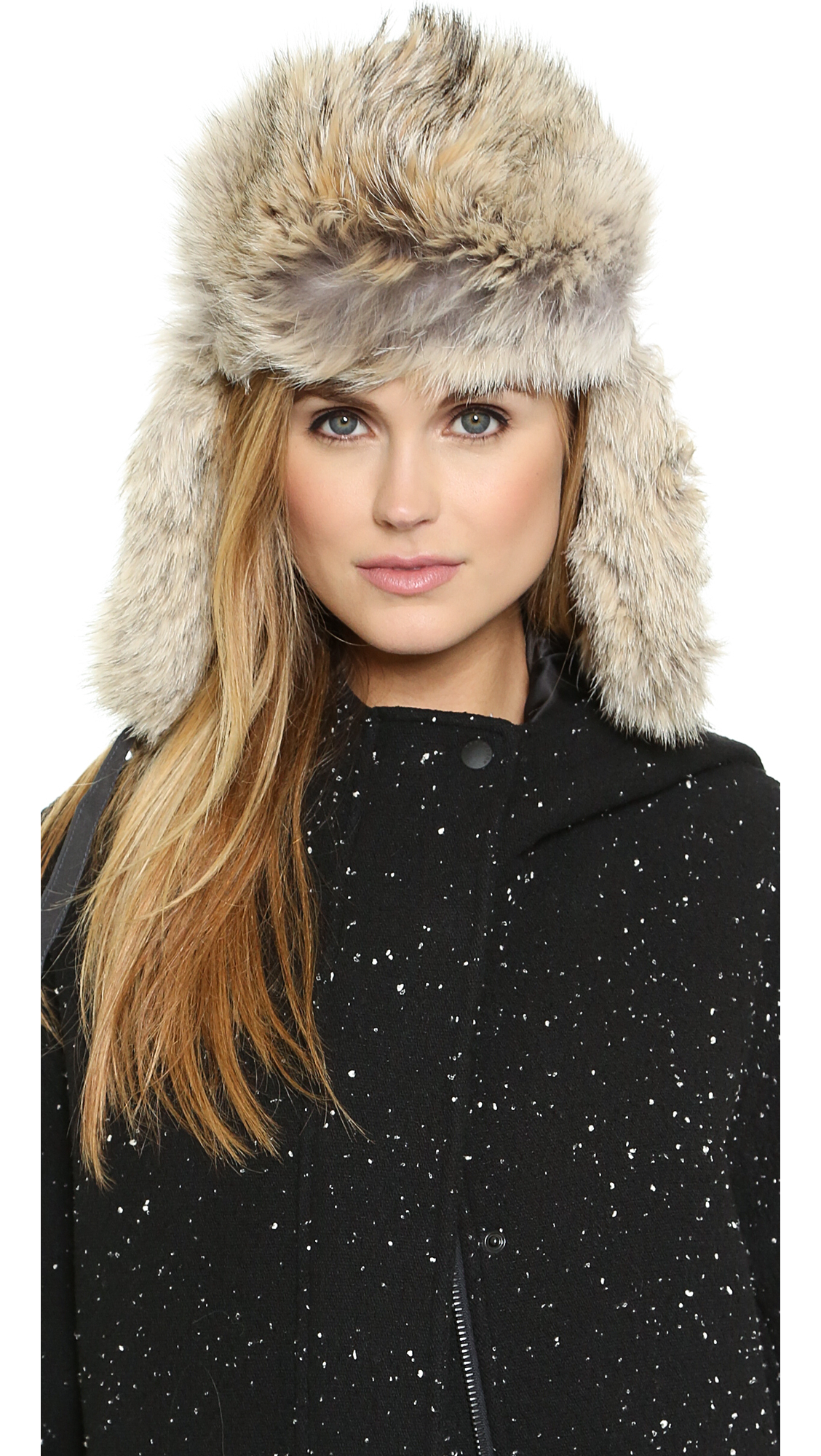Canada Goose down online authentic - Canada goose Aviator Hat - Pacific in Gray (Graphite) | Lyst