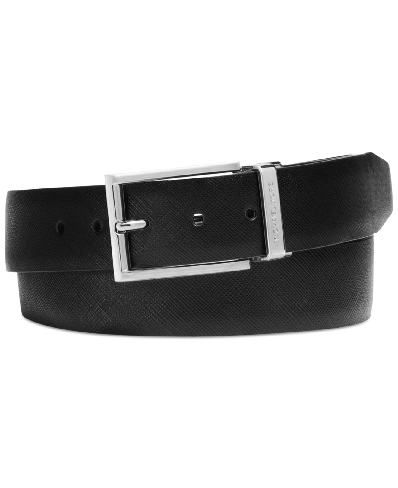 342a2737382e norway lyst michael kors saffiano leather reversible colorblock belt in  36d20 13077