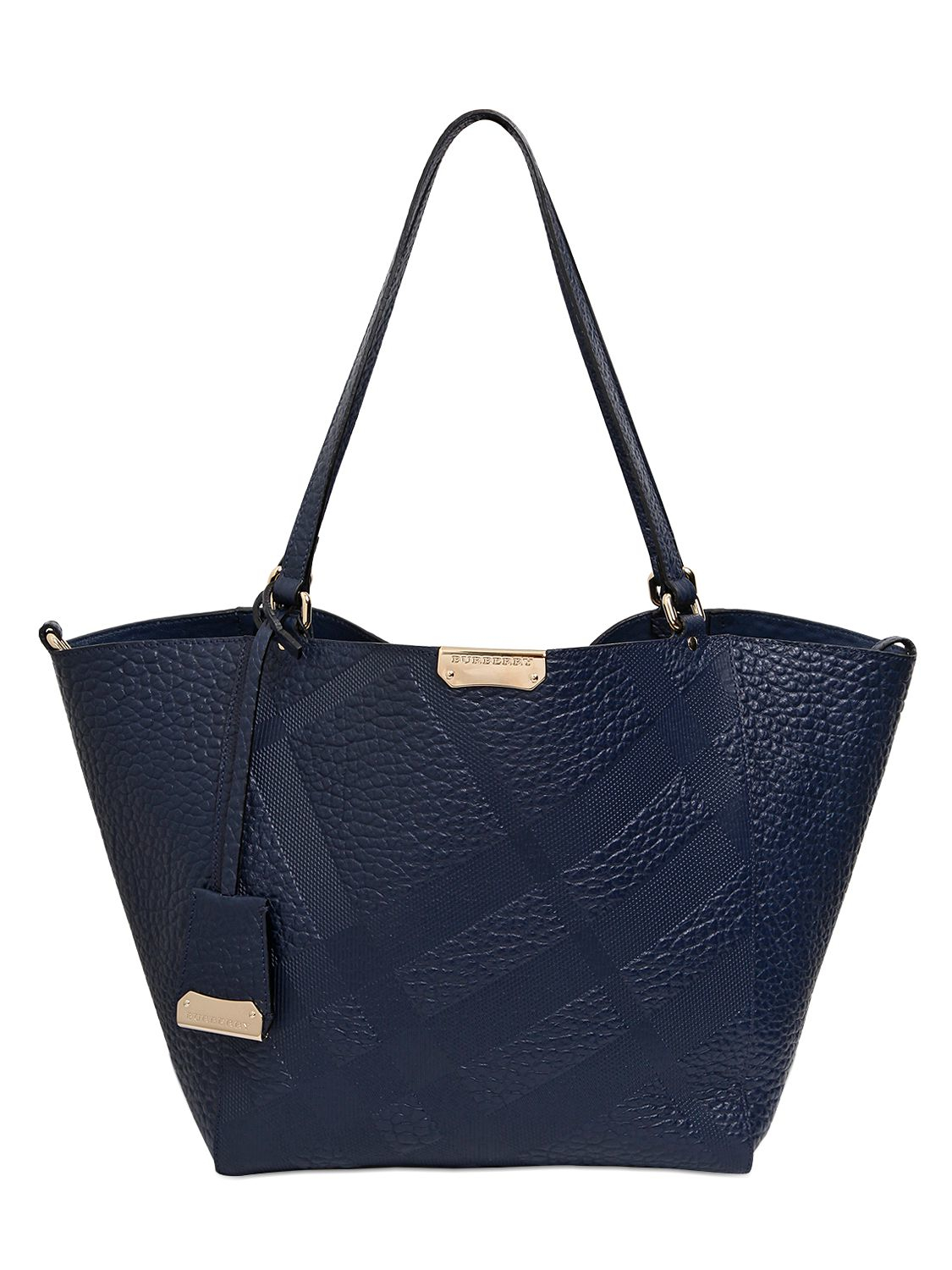 c158b2cff5f9 Burberry Canterbury Elephant Embossed Leather Bag In Blue Lyst