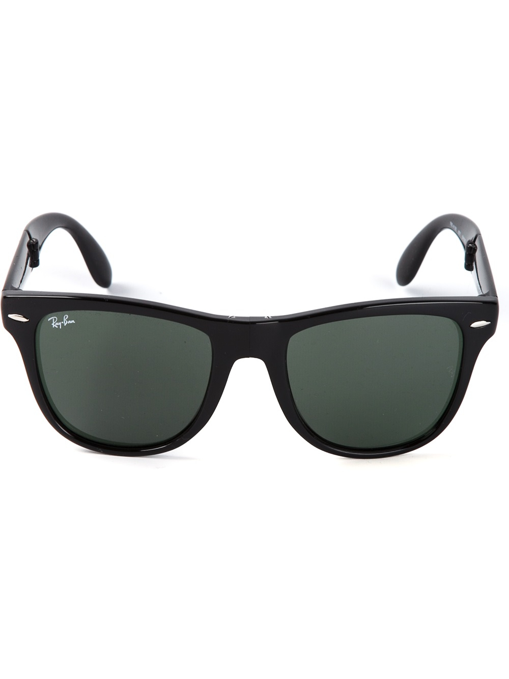 ray ban square sunglasses  Ray-ban Square Frame Sunglasses in Black for Men