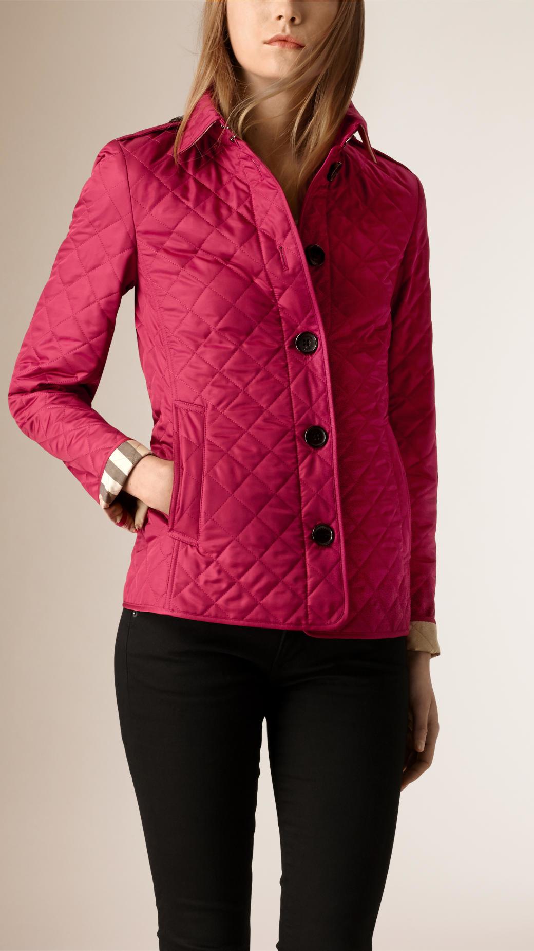 Burberry Showerproof Taffeta Trench Jacket With Detachable