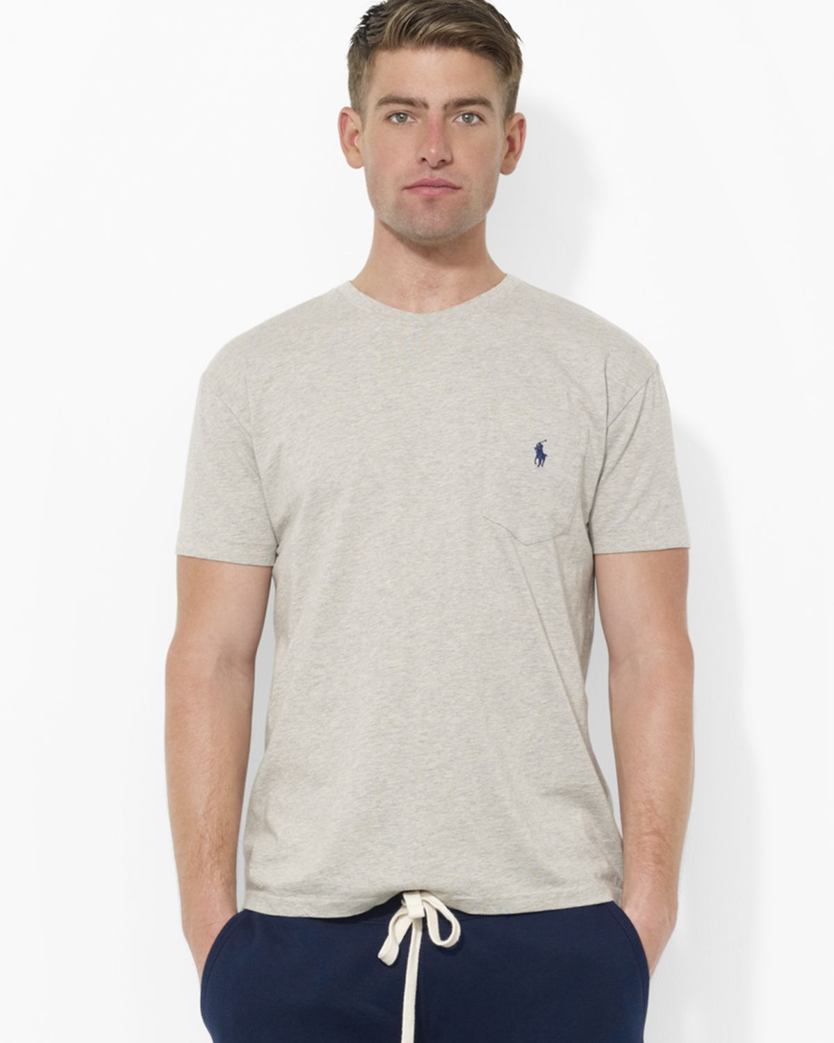 Classic Polo Lauren Pocket Fit Ralph T Shirt CQtsrhd